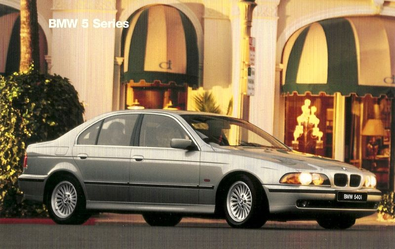 1997 BMW Paint Charts and Color Codes
