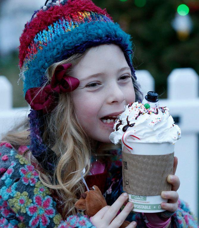 San Jose Christmas in the Park famous hot cocoa! ✨ California, I