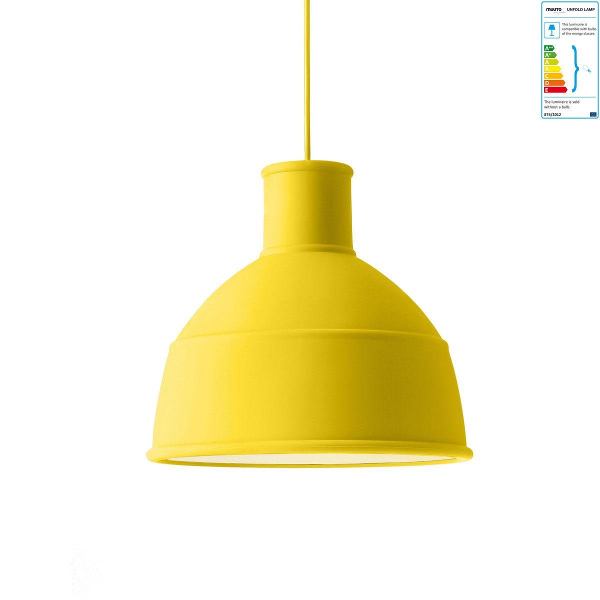 Pendelleuchte Gelb muuto unfold pendelleuchte gelb jetzt bestellen unter https