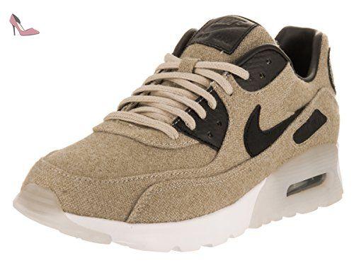 hot sale online 8837e 365bb Nike Women s Air Max 90 Ultra Prm Oatmeal Black White Running Shoe Women  US, Size  Medium, Beige
