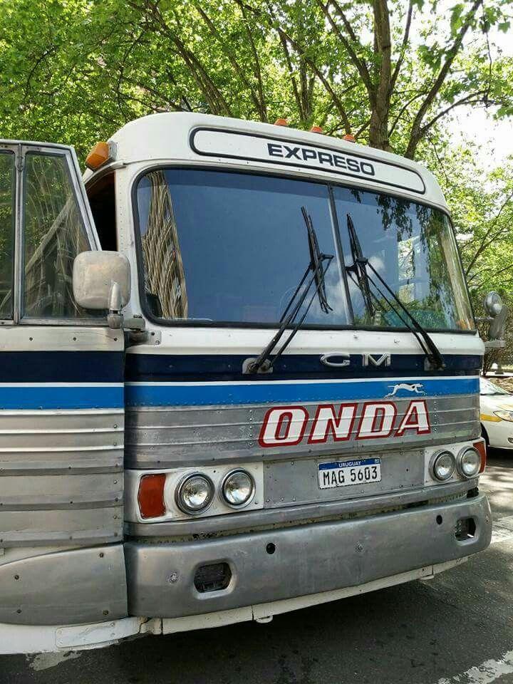 Micro Onda Reciclado Uruguay Omnibus Autobus