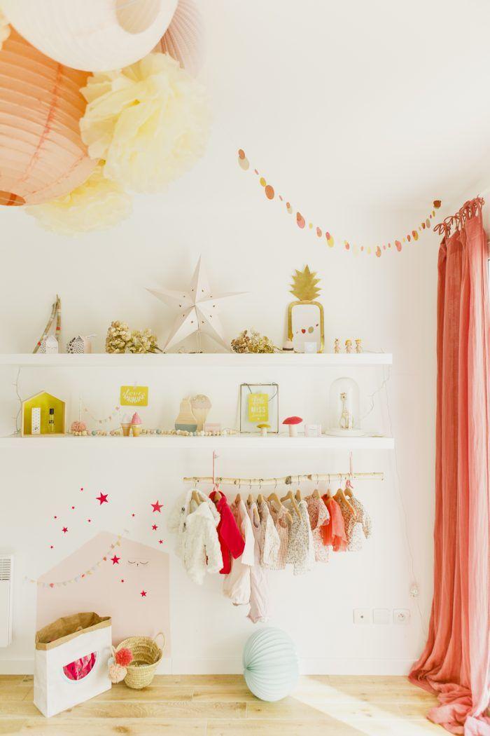 Lustre Colore Pour Chambre De Petite Fee Chambre Bebe Rose Deco