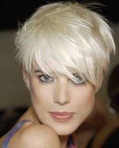 Trendy Haircolor for Short Hair