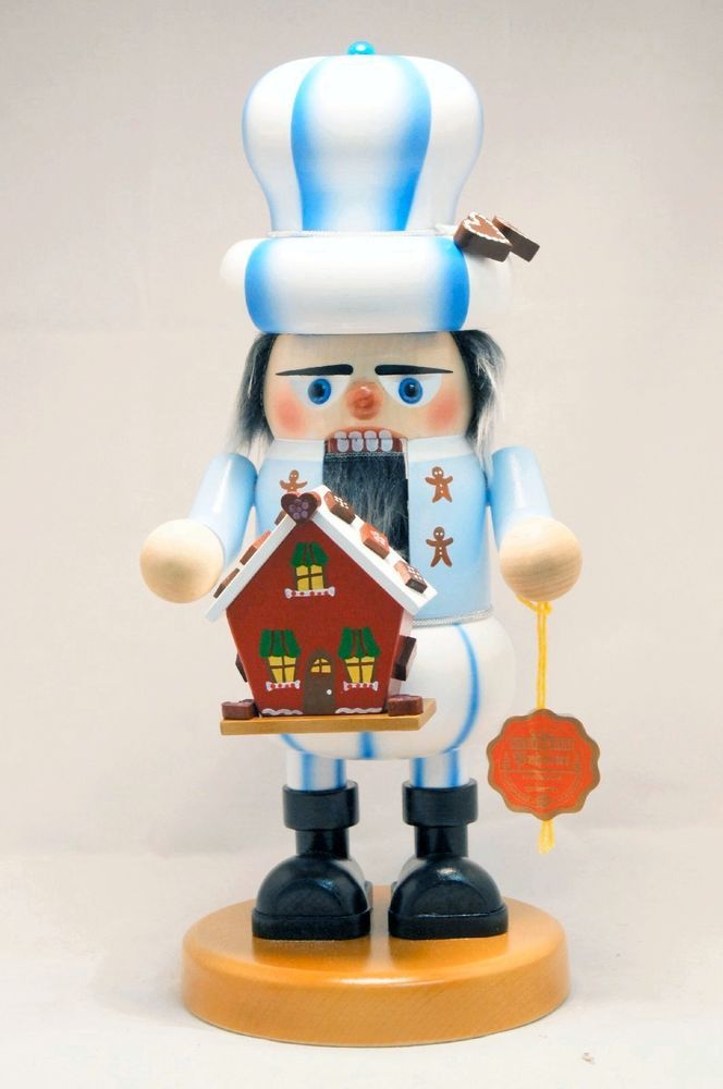 Steinbach Gnome Gingerbread Baker German Christmas Nutcracker Made in Germany