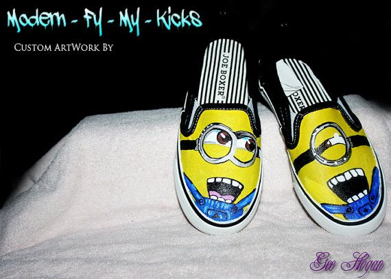 44b05b0b943d2 Pin by Steph Wooten on Sole Mate | Minion shoes, Shoes, Toms shoes ...
