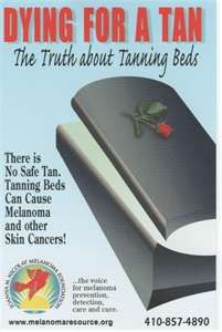 There Is No Safe Tan Tanning Beds Can Cause Melanoma And Other Skin