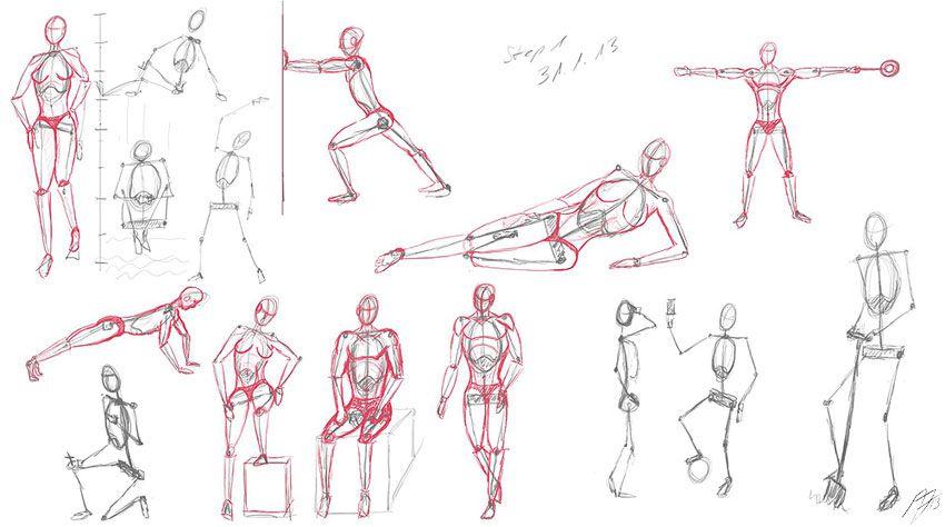 proportionen-menschen-zeichnen-amp-malen-lernen | Zeichnen ...
