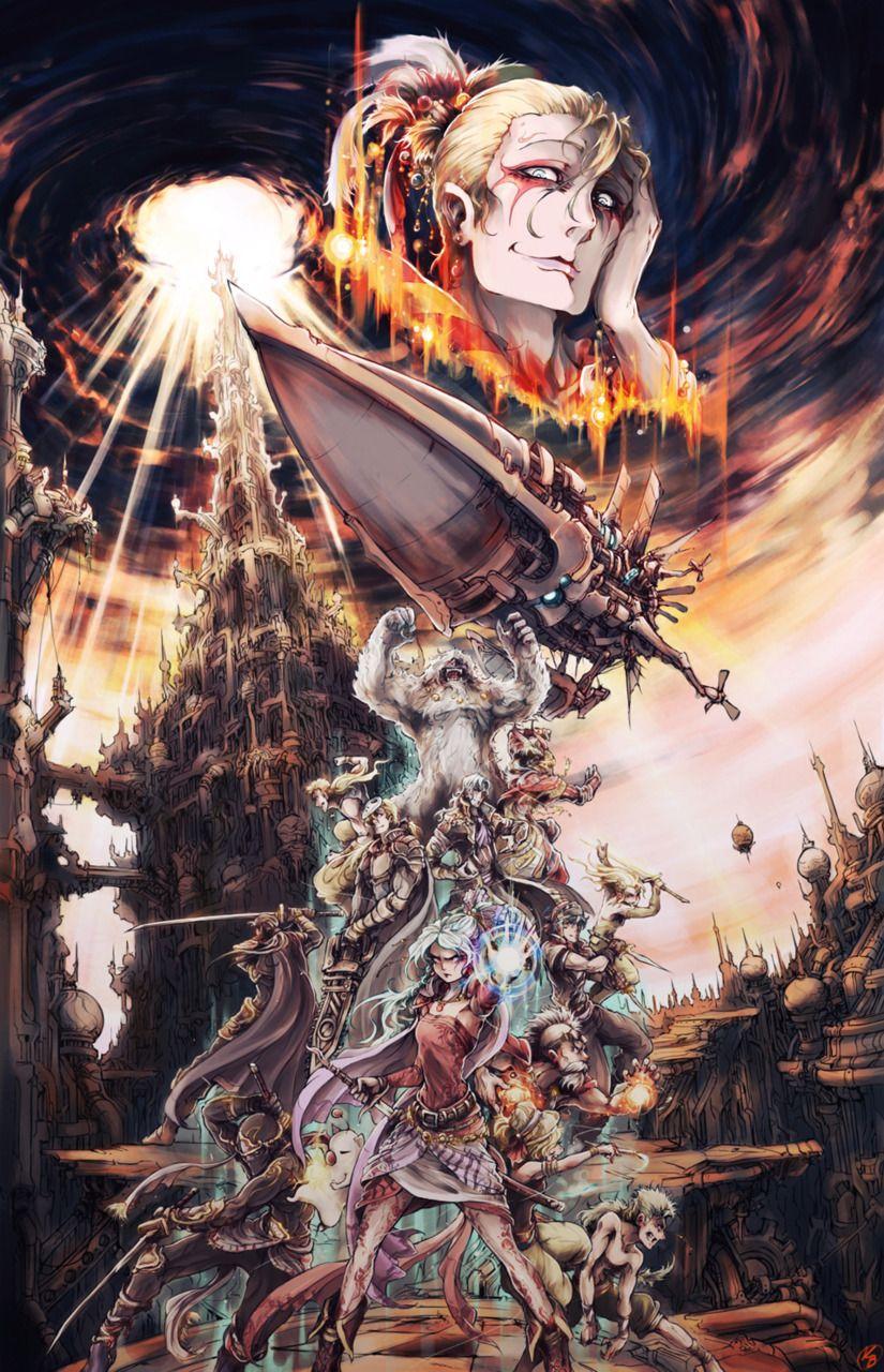 Final Fantasy Vi Final Fantasy Vi Final Fantasy Artwork Fantasy Artwork