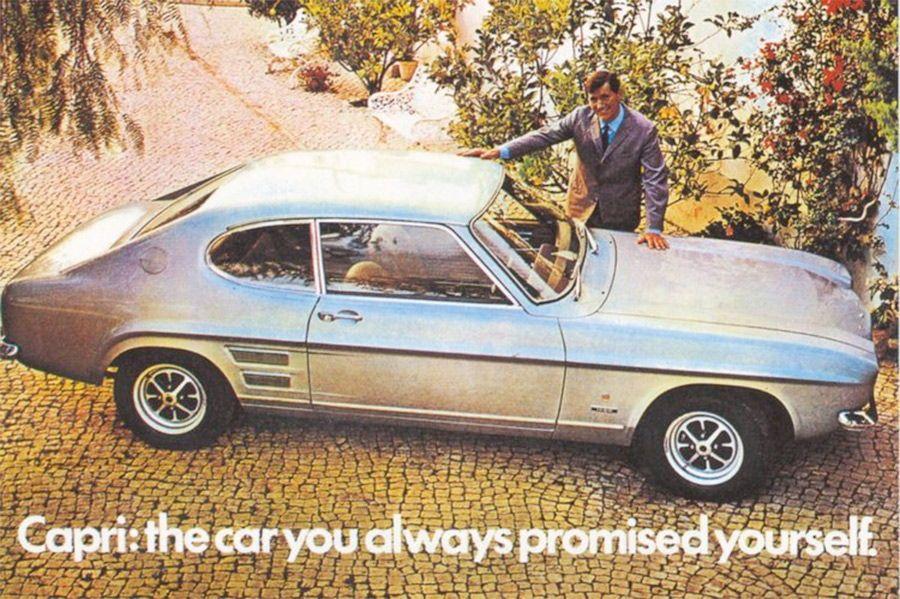 Ford Capri Advertising In 2020 Ford Capri Pony Car Capri
