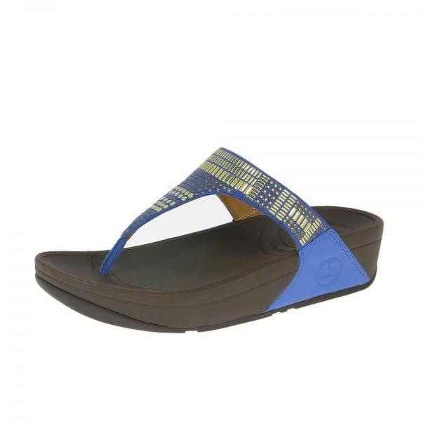 2dfc8a2eb17e2d FitFlop™ Aztek Chada™ Sandals Devon Blue