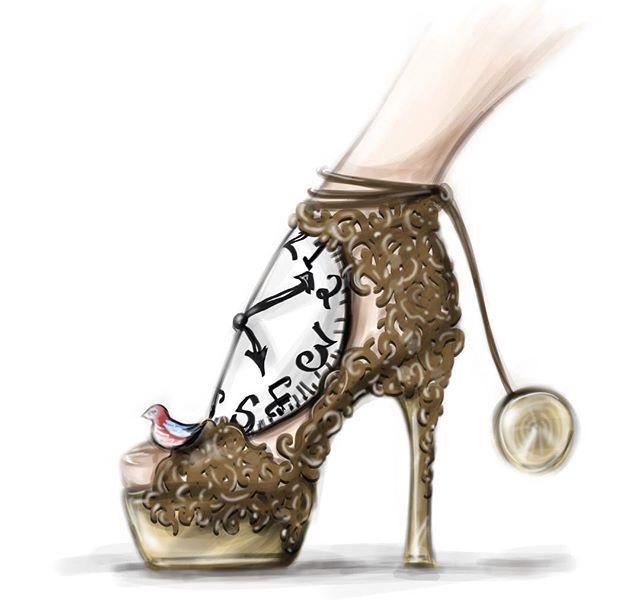 cac6284e874a Tik Tok heels Módne Topánky