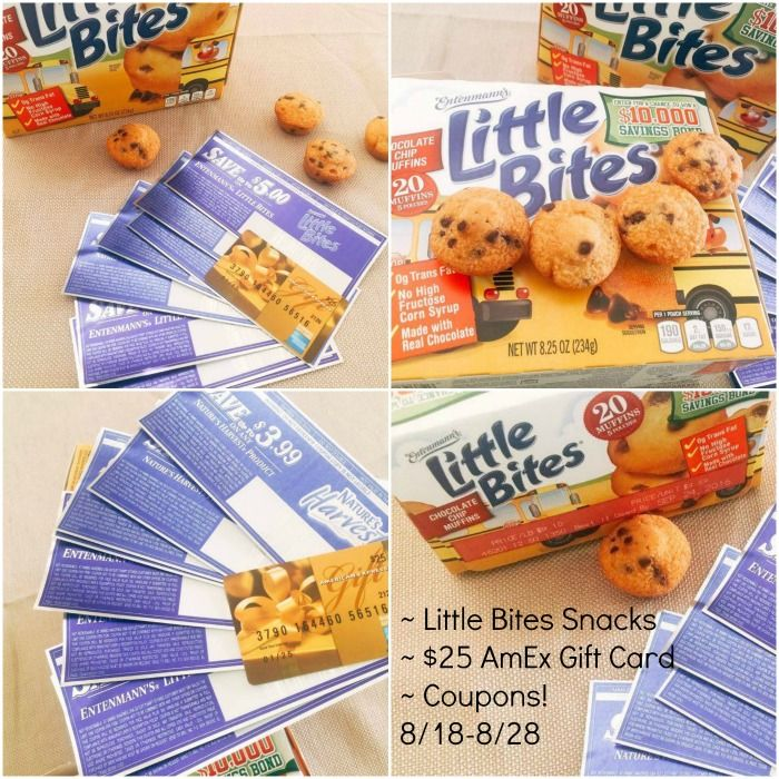 Add Entenmann S Little Bites Snacks And Coupons To Your Back To