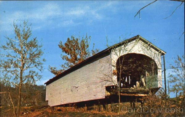 covered bridge guilford indiana | Guilford Covered Bridge Indiana