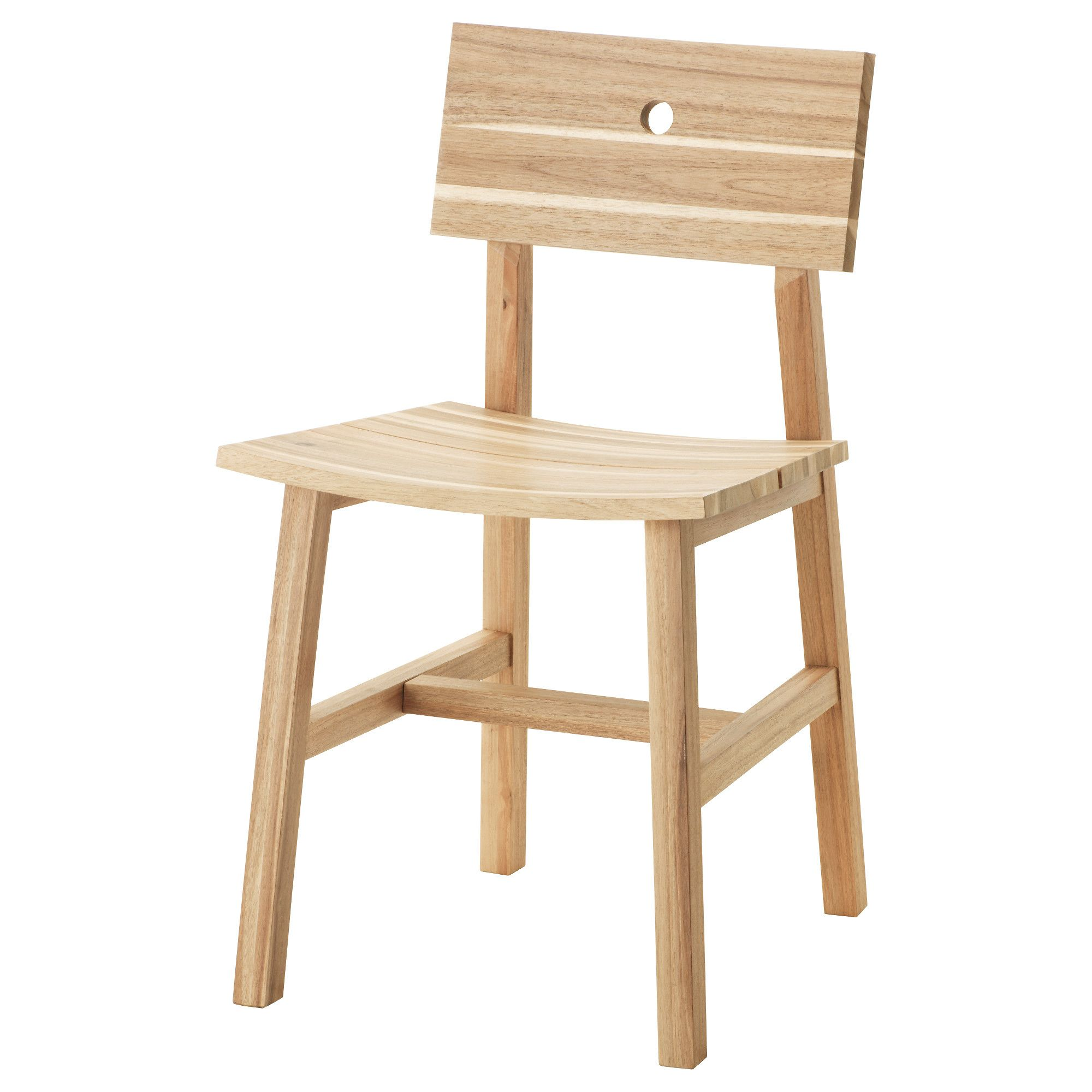 Kitchen Chairs Wood Skogsta Chair Acacia Furniture Ikea Dining Chair Kitchen