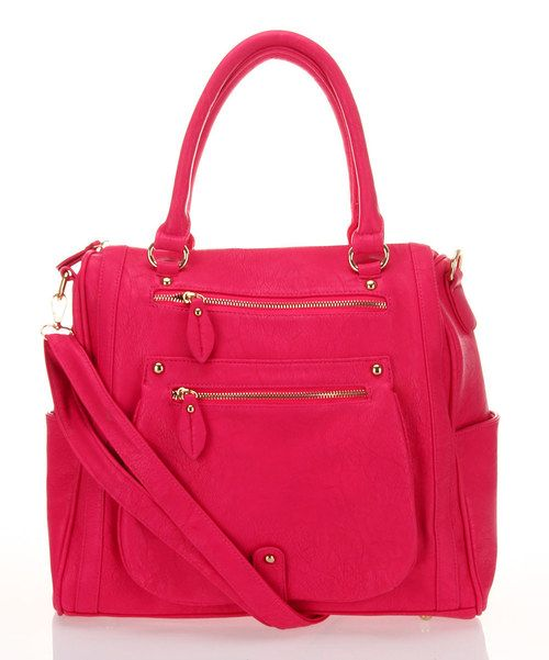 Take A Look At This Fuchsia Zipper Tote By Segolene Paris On Today