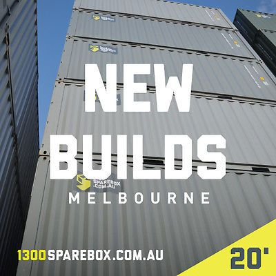 QUALITY 20FT NEW BUILD SHIPPING CONTAINERS - Melbourne ...