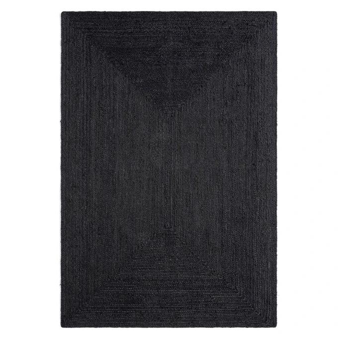 hempy jute rectangulaire tapis