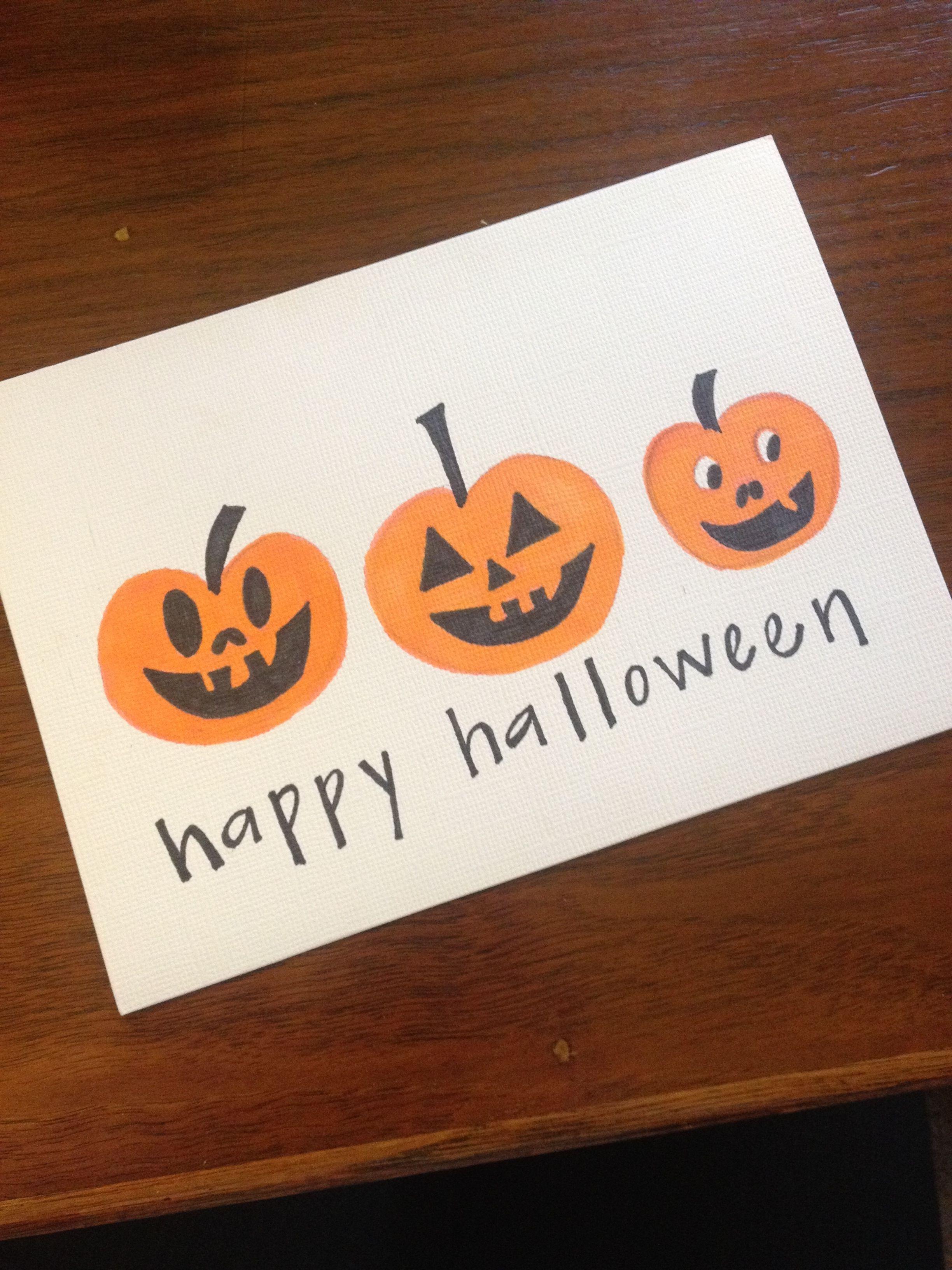 diy halloween card - Handmade Halloween Cards Pinterest