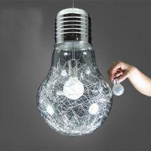 150 Mm 250 Mm Breve Personnalise Grande Ampoule Pendentif Lumiere