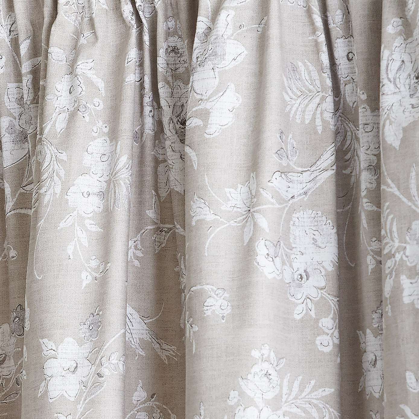 Chateau Natural Lined Pencil Pleat Curtains Dunelm