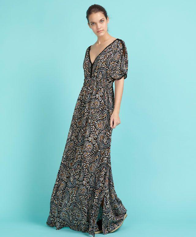 Vestido estampado floral - OYSHO