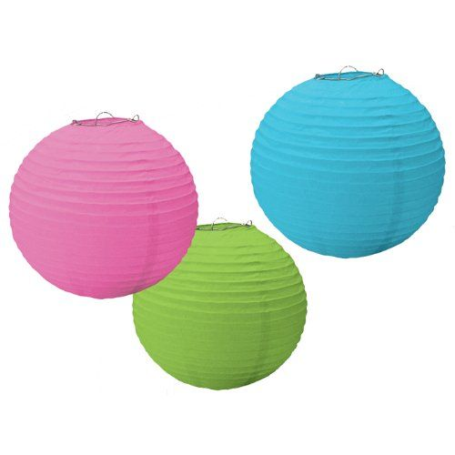 24% Off was $8.00, now is $6.04! Round Paper Lanterns  #Amscan
