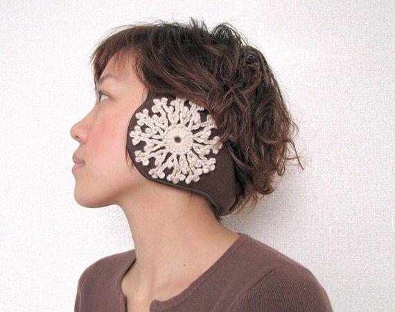 Snowflakes Ear Muffs