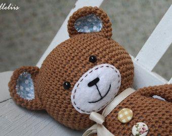 Amigurumi Crochet Patterns Teddy Bears : Pattern smugly bear crochet pattern amigurumi pattern pdf