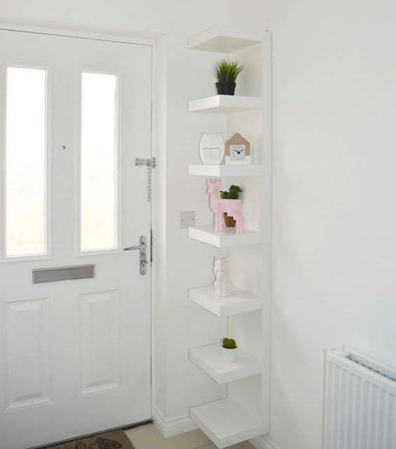 Ikea lack wall shelf white ikea ideas ikea lack wall - White bathroom corner shelf unit ...