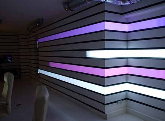 Superior Futuristic LED Digital Wallpaper For Wall Decorating   Along With The  Times, Wallpaper Always Develops Nice Look