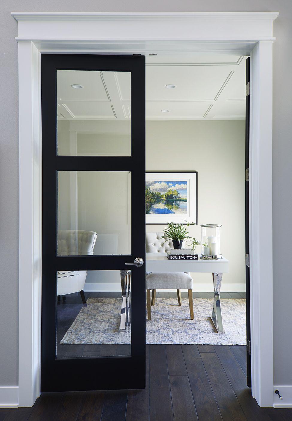 glass doors interior