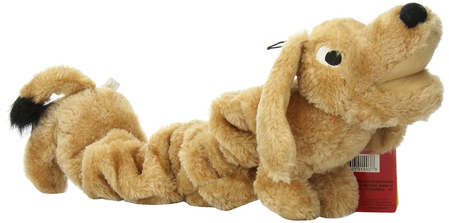 Kyjen Bungee Wiener Dog Toy It Stretches Want Additional