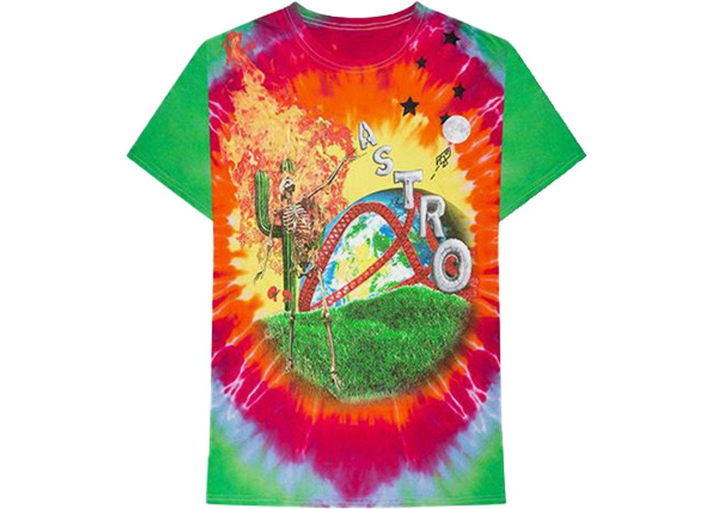 Travis Scott Astroworld Smiley Tee Multi Tie Dye Smiley Travis Scott Astroworld Tie Dye [ 1000 x 1400 Pixel ]