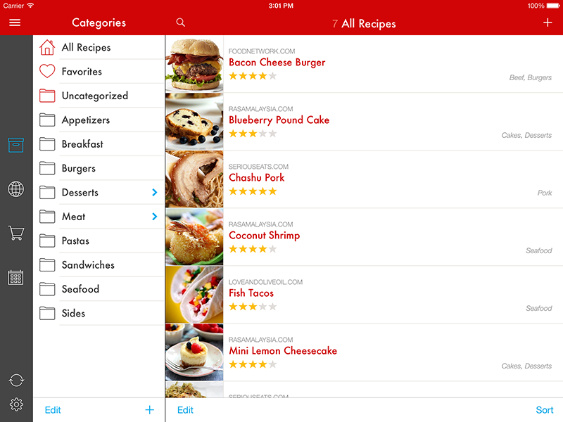 Paprika Recipe Manager for iPad, iPhone, Mac, Android, and