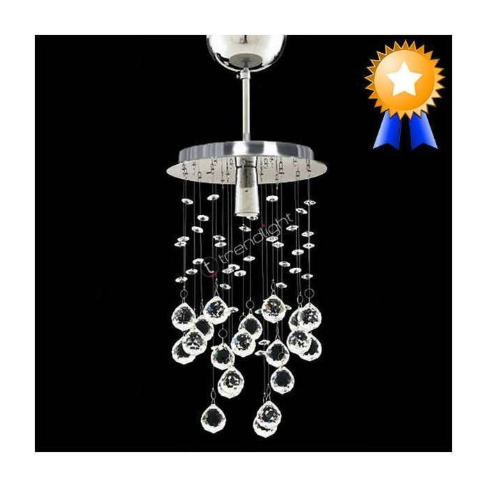 Chrome design glass shade single chandelier hanging light ceiling chrome design glass shade single chandelier hanging light ceiling light mozeypictures Image collections