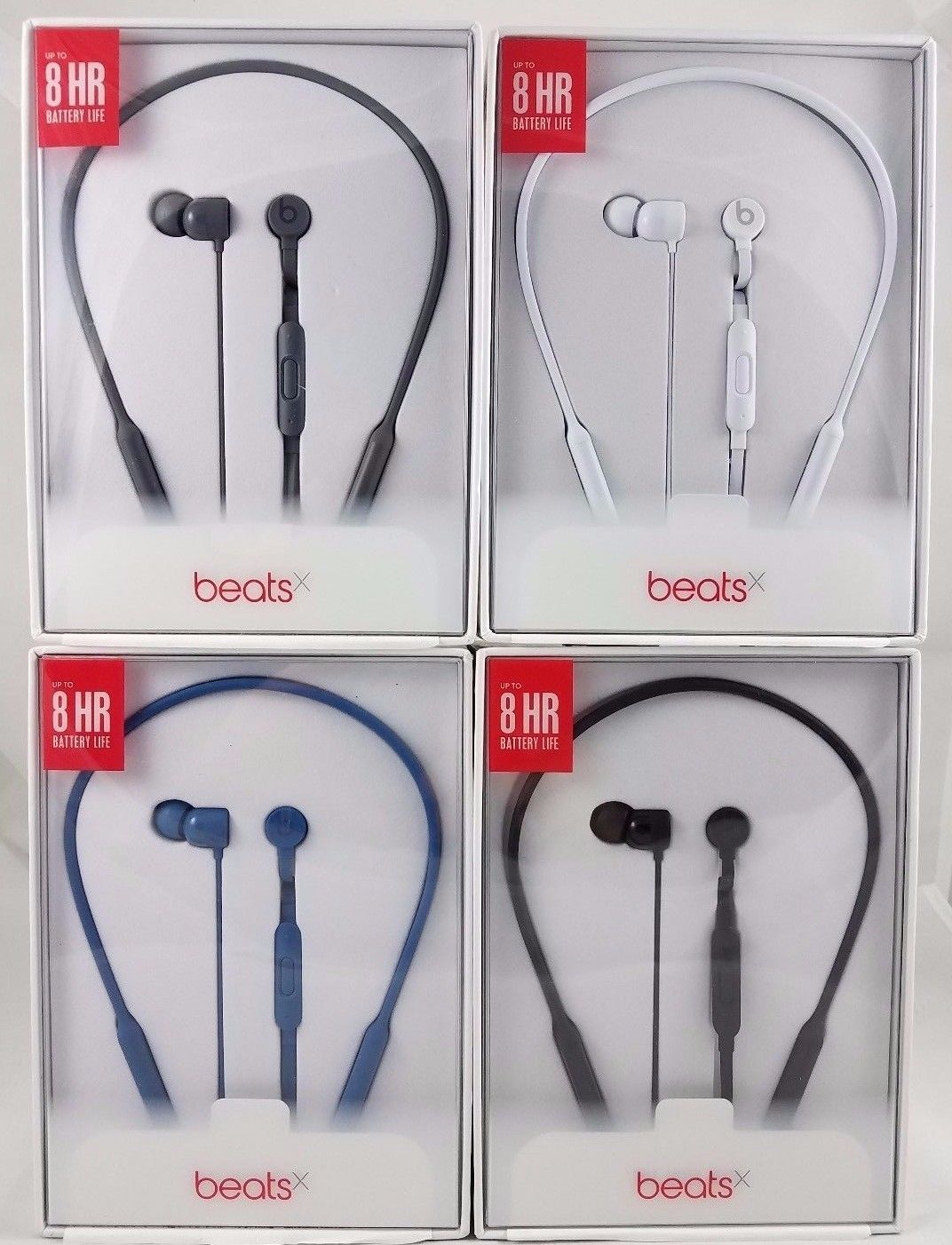 bbdedabca67 Headphones Headset New Beats by Dr. Dre BeatsX Beats X Wireless Bluetooth  In-Ear Headphones NEW OPEN RETAIL BOX