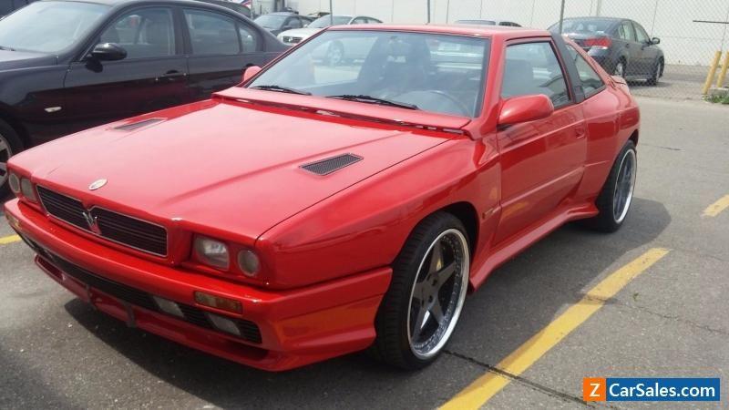 1991 Maserati Shamal #maserati #shamal #forsale #canada ...