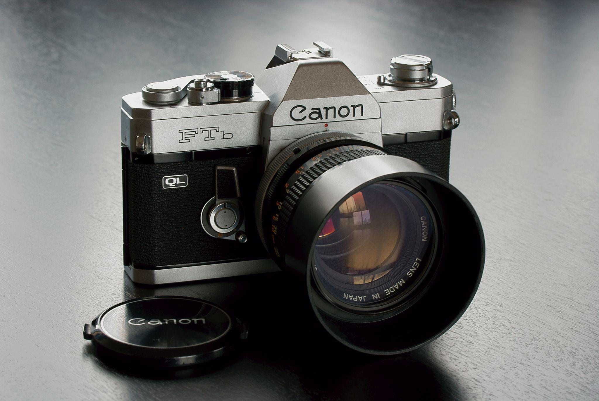 Canon FTb QL - SONY DSC