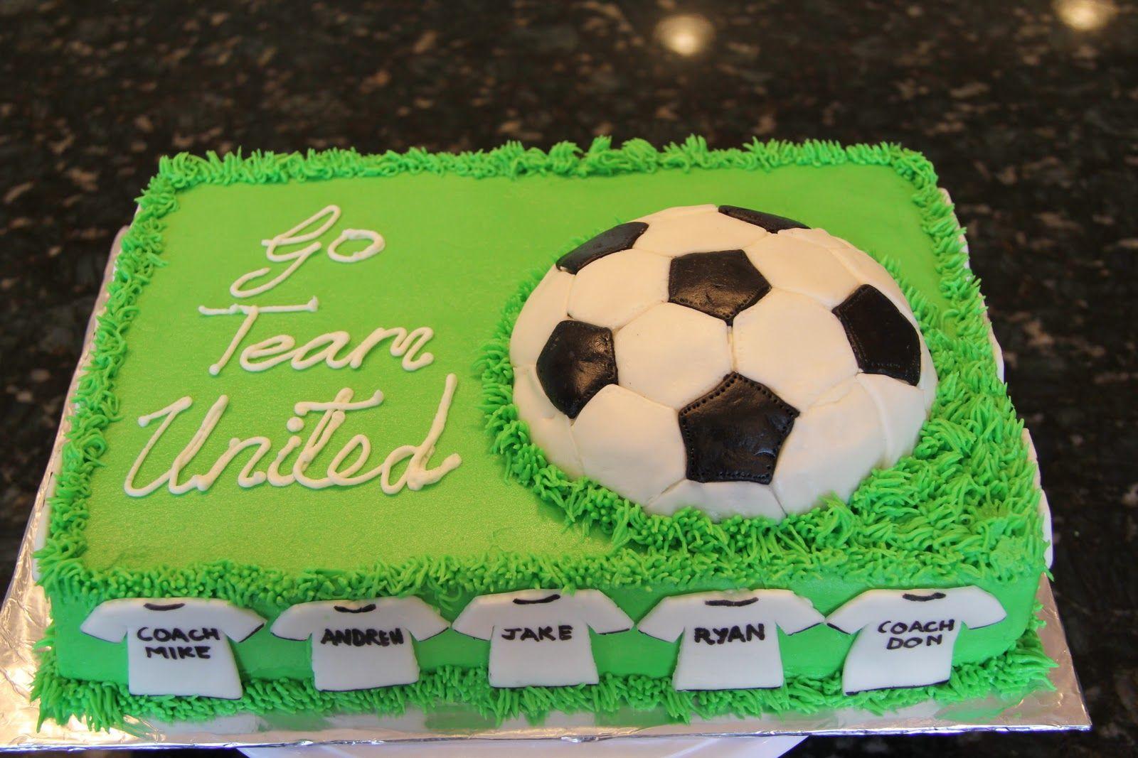 Serene S Kitchen Soccer Cake Soccer Cake Birthday Desserts Neon Cakes