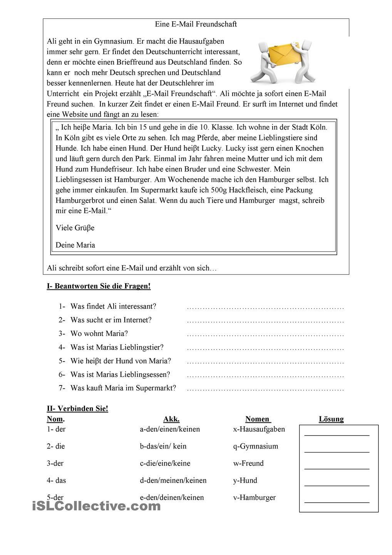 Offizielle Briefe Schreiben Wortschatz : Pin von susanne rammerstorfer auf daf leseübungen