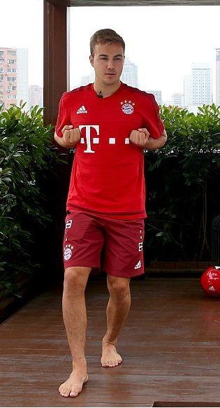 Mario Götze Fett
