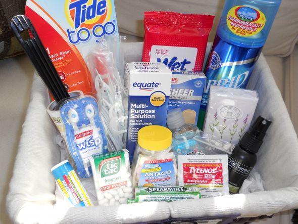 Bathroom baskets. I should put one together for the guest room.   do ...