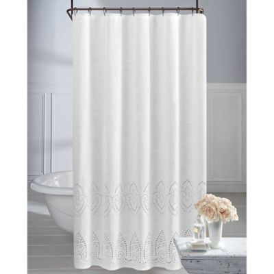 Wamsutta Vintage Eyelet Shower Curtain In 2020 Fabric Shower