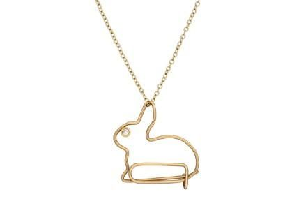 Kate Hillier Bunny Necklace