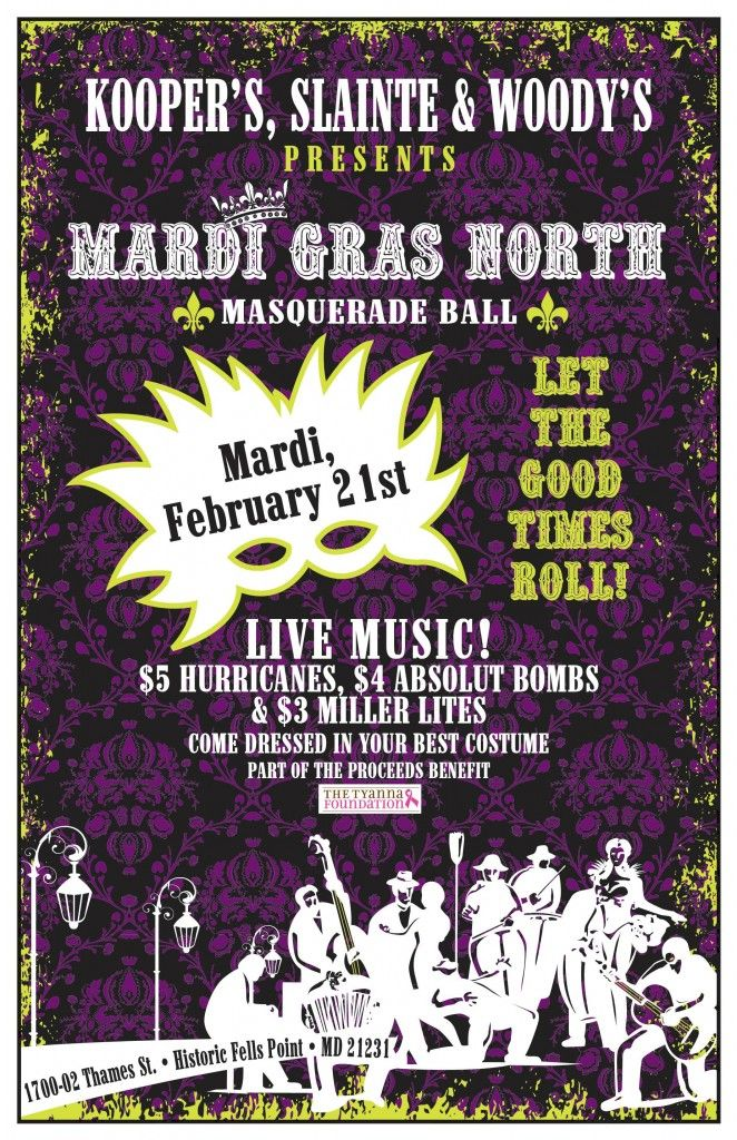 All Mardi Gras Dinner Specials are available this Weekend @Kooperstavern