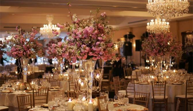 cherry blossom tree wedding decor | Sources: Burnett's Boards ...
