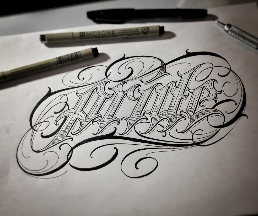 Pin On Tattoo Lettering