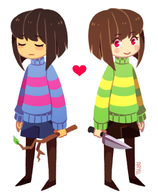Frisk & Chara - Undertale | gaming | Undertale costumes