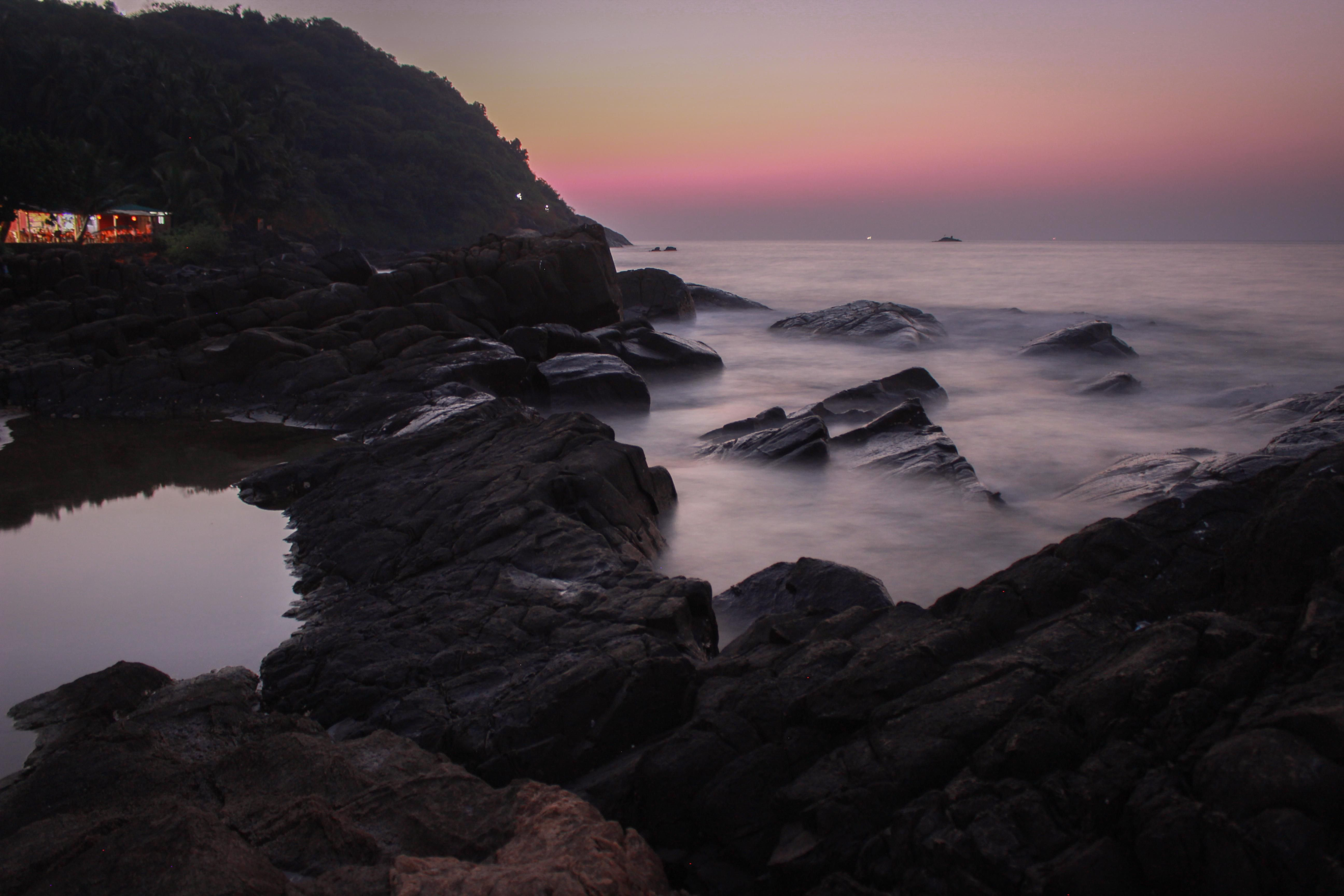 A beautiful serene sunset at Kudle Beach Gokarna India [5184x3456] [OC]