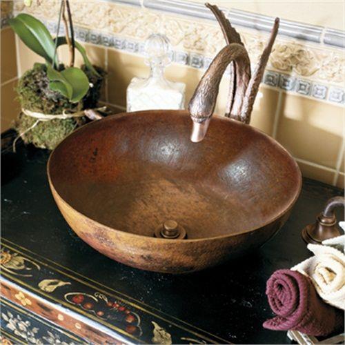 Native Trails CPS363 Maestro Round Bathroom Vessel Sink